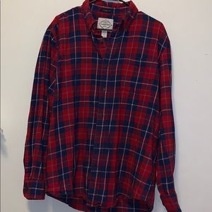 St. Johns bay flannel size large